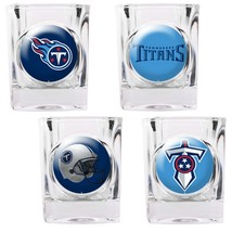 Tennessee Titans 4 Piece Collector's Shot Glass Set  - $35.66
