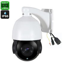 PTZ Dome Camera - 20X Optical Zoom, 60 Meters Night Vision, 1/3 Inch 5MP... - $226.88