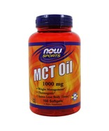 NOW Foods MCT Oil 1000 mg., 150 Softgels - $15.29