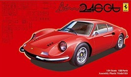 *Fujimi model 1/24 real Sports Car Series No.101 Dino 246GT - $28.08