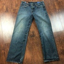 GAP 1969 Men's Loose Straight Fit Button Fly Jeans Stained - $28.49