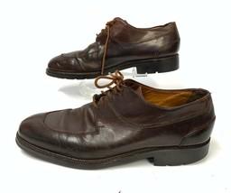 Cole Haan Brown Leather Split Toe Oxford 14170 Dress Shoes Men's 11M  (sh-166) - $46.39