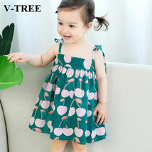 Kids Dresses For Girls Children Princess Dress Print Baby Princess Costume - $9.58