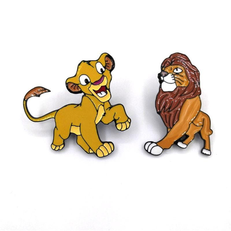 Primary image for Disney Pin Lion king couple kids men women 90s funny cartoon backpack clothes di
