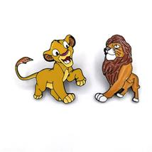 Disney Pin Lion king couple kids men women 90s funny cartoon backpack cl... - $9.99+