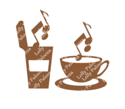 Brew Notes. Coffee and Tea. Musical. SVG. PNG. Digital Downloads.