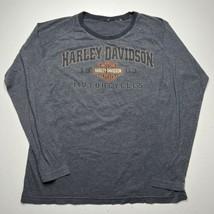 Vintage Men's Harley Davidson Motorcycles Dayton Ohio Long Sleeve T Shir... - £21.54 GBP