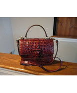 Authentic Brahmin Mini Francine Pecan Melbourne Embossed Leather New W/Tag - $178.19
