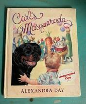 Carl's Maskerade Alexandra Day Signiertes Autogramm Kopie 1992 Erste Aus... - £14.87 GBP