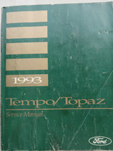 1993 Ford Tempo Topaz Service Manual Shop Repair OEM Factory Dealership Book - $7.08