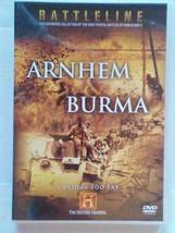 History Channel Battleline - Arnhem and Burma DVD NEW [REGION 0 EUROPE] - $7.99