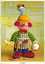 Jean Greenhowe Knit Clowns Red Nose Gang Gardener Painter Cook Traveler ... - $11.99