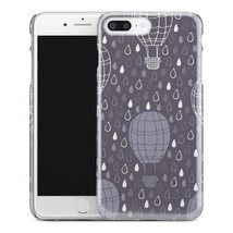 Casestry | Gray And White Hot Air Balloon Abstract | iPhone 7 Plus Case - $11.99