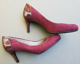 LifeStride Womens Lively Lux  Pumps Size 8 Shoes Burgundy - $33.24