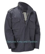 M65 US FIELD JACKET QUILT LINER VINTAGE MILITARY ARMY COMBAT COAT NAVY - $49.39+