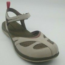 Merrell Womans Siren Wrap Q2 Ankle Strap Grey Sandal Cushioned Sz 11M NEW - $49.49