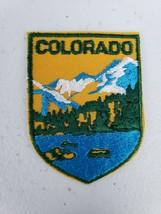 Vintage Voyager Colorado Rocky Mountain State Souvenir Patch Tourist Travel - $8.50