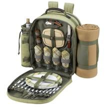 Picnic At Ascot Hamptons Backpack Cooler with B... - $70.11