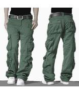 New Camouflage Tactical Cargo Pants Men Joggers Military Army Combat Cas... - $128.00+