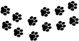 Cat/Dog Paw Prints Vinyl Stickers decals, car, window, van x8