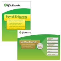 QuickBooks Desktop Premier 2018, 3-User - Enhanced Payroll Bundle! - $1,244.95