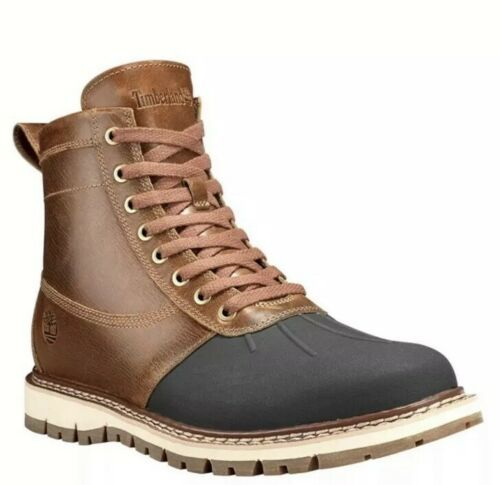 Primary image for Timberland Men's Britton Hill Waterproof Chukka Shoes in Mid Brown SIZE 8M
