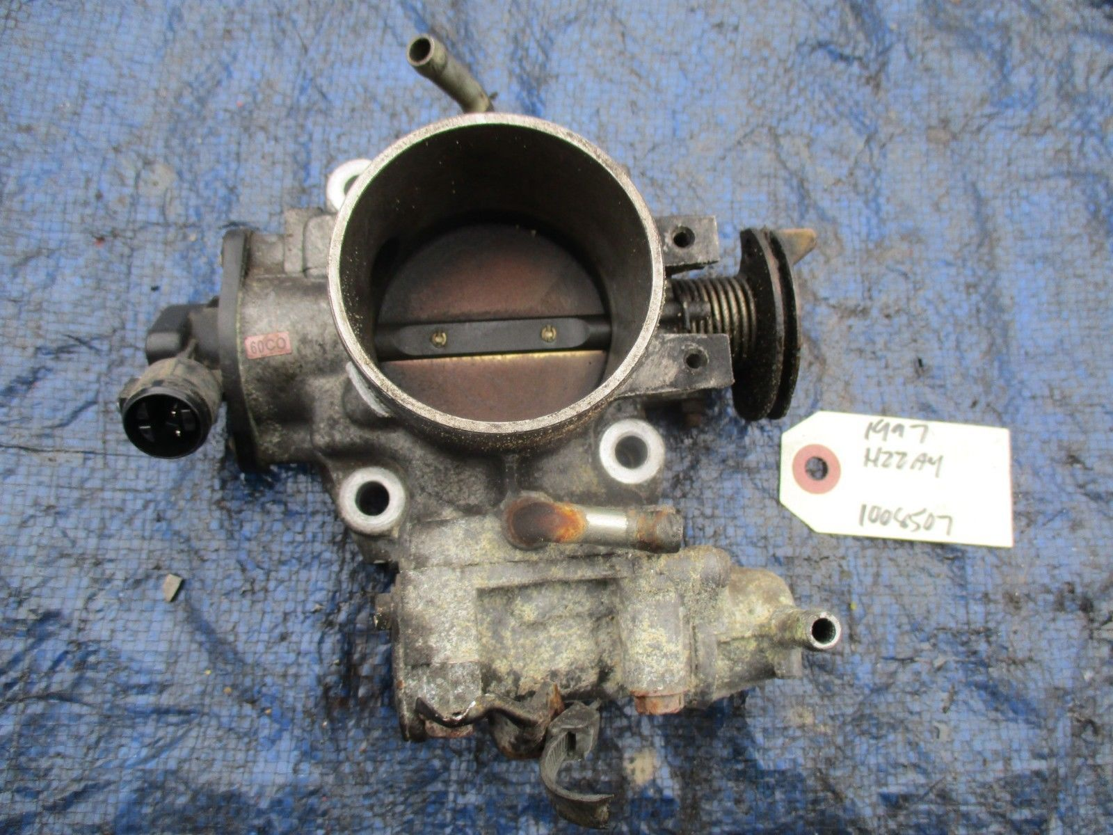 97-01 Honda Prelude bare H22 throttle body assembly OEM H22A H22A4 VTEC P13 2