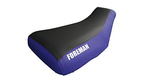 Primary image for Honda Foreman TRX400FW Seat Cover Black And Blue Foreman Logo Year 1997 To 2003