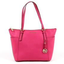 Fuxia ONE SIZE Michael Kors Womens Handbag JET SET ITEM 30F4GTTT9L RASPB... - $253.37