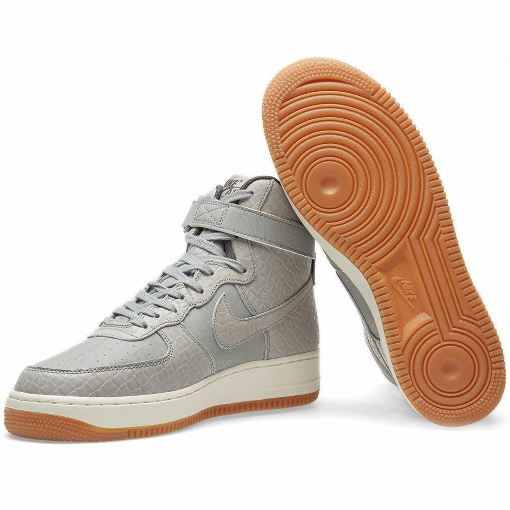 Women's Nike Air Force 1 Hi Prm Shoes Wolf and similar items