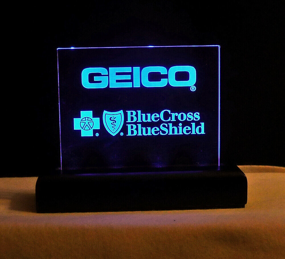 Personalized LED Rechargeable Internal Battery Name Plate, Custom Sign - Award