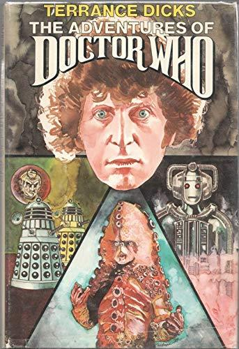 Primary image for THE ADVENTURES OF DOCTOR WHO by TERRANCE DICKS Nelson Doubleday 1979 Book Club [