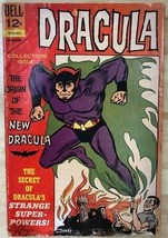 DRACULA #2 first Dracula issue (1966) Dell Comics GOOD - $10.88