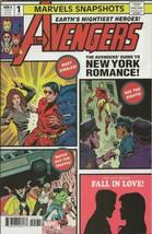 Avengers Marvel Snapshots #1 2020 Marvel Comics Staz Johnson - $9.89