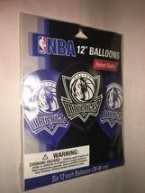 New Dallas Mavericks Nba Helium Quality Latex Balloons Pack Of 6 - $5.46