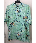 Ralph Lauren Big and Tall Mens Hawaiian S/S Polo Shirt NWT 4XB - $55.86