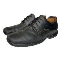 Cole Haan Mens Zeno Oxford Shoes Black Lace Up Split Toe Low Top 9 M - $34.64