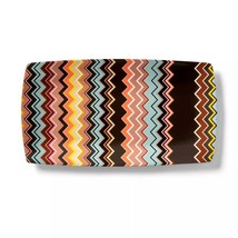 """Missoni for Target 16.1""""x8.7"""" Stoneware Serving Tray Colore Zig Zag Print - $100.00"""
