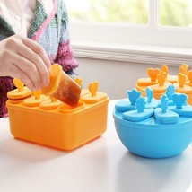 Ice Cream Mold Diy Popsicle Maker Frozen Kitchen Tool Freezer Stick Pop ... - $13.38 CAD+