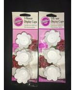 6 WILTON Flower Display Cups - $9.99