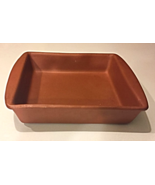 """COPCO TERRA COTTA 8"""" SQUARE BAKING PAN FOR SMALL CAKES, BROWNIES, CASSER... - $8.00"""
