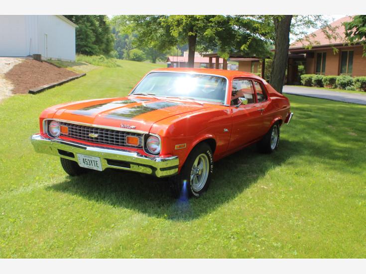 1973 Chevrolet Nova Coupe For Sale In Minerva, OH 44657