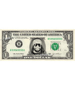 RANDY SAVAGE on a REAL Dollar Bill WWE Cash Money Memorabilia Collectible Celebr - $8.88