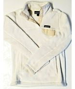 Patagonia Womens Size XS Re Tool Snap T Fleece Pullover Sweater White Cream - $47.45