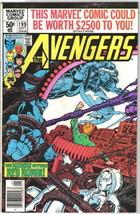 The Avengers Comic Book #199 Marvel Comics 1980 VERY FINE- - $4.25