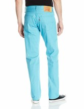 Levi's Strauss 501 Men's Shrink To Fit Straight Leg Jeans Button Fly 501-2406 image 2