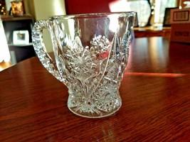 "* Crystal Decorative Cup 5"" x 4.75""                                     ... - $12.74"