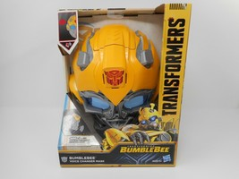 Transformers: Bumblebee -- Bumblebee Voice Changer Mask NEW - $39.99