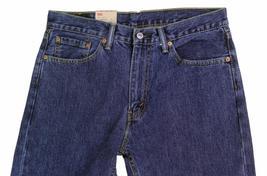 NEW LEVI'S STRAUSS 505 MEN'S ORIGINAL STRAIGHT LEG DARK STONEWASH JEANS 505-4886 image 4