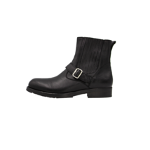 DIESEL FS-16-8  Leather Mens Ankle Boot Black Size 10.5 - $102.59